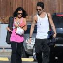 Colin Farrell & His Sister Claudine Hit Up A Yoga Class - 454 x 574