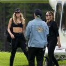 Miley Cyrus – Leaving the Dolomites in San Cassiano