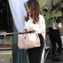 Lisa Vanderpump is spotted having lunch at Villa Blanca in Beverly Hills, California on April 1, 2016 - 378 x 600