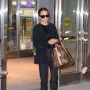 Alicia Vikander – Arriving at JFK Airport in New York City November 2, 2017