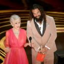 Helen Mirren and Jason Momoa At The 91st Annual Academy Awards - Show - 454 x 311