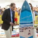 Catherine, Duchess of Cambridge visit Manley Beach, Sydney, during their tour of Australia and New Zealand