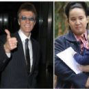 Robin Gibb and Claire Yang