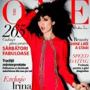 Irina Lazareanu - The One Magazine Cover [Romania] (December 2012)