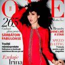 Irina Lazareanu - The One Magazine Cover [Romania] (December 2012)