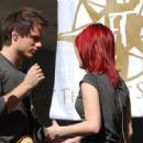 Hayley Williams and Josh Farro - 454 x 317