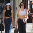 Kendall Jenner and Kaia Gerber – Christmas shopping in Beverly Hills