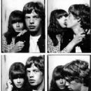 Mick Jagger and Chrissie Shrimpton - 454 x 552