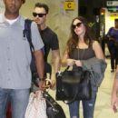 Megan Fox & Brian Austin Green: Hello Rio de Janiero - 454 x 681
