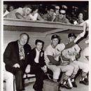 Stan with Dizzy Dean (Far Left) 1963