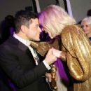 Rami Malek and Lucy Boynton At The 76th Annual Golden Globes (2019) - Pos Party - 454 x 337
