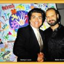 Metin Bereketli and George Lopez - 454 x 301