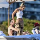 Sofia Richie in Bikini on the beach in Miami