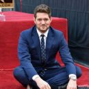 Michael Buble Honored With Star On The Hollywood Walk Of Fame - 443 x 600