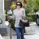 Ellen Pompeo: shopping in West Hollywood