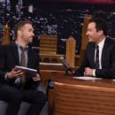 Ryan Reynolds-September 21, 2015-Visits 'The Tonight Show Starring Jimmy Fallon'