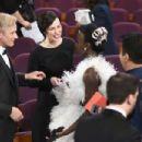 Viggo Mortensen, Lupita Nyong'o and Ariadna Gil At The 91st Annual Academy Awards - Show - 454 x 302
