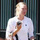 Maria Sharapova – Out in Wimbledon - 454 x 620