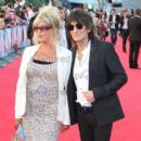 Pattie Boyd and Ron Wood
