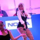 Nicki Minaj Lights Up Times Square for Nokia