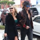 Nikki Lund and Richie Sambora check out their new flagship store 'Nikki Rich' opening in March 15 in Beverly Hill, CA on February 2, 2015 - 410 x 600