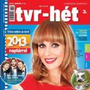 Ági Gubik - Tvr-hét Magazine Cover [Hungary] (14 January 2013)