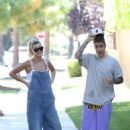 Hailey Baldwin and Justin Bieber – Out in Beverly Hills