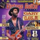 Gary Clark Jr. - Vintage Guitar Magazine Cover [United States] (May 2016)