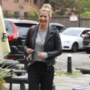 Gemma Atkinson – Arriving at Hits Radio in Manchester - 454 x 747