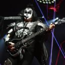 Gene Simmons of KISS performs during their End Of The Road World Tour at The Forum on February 16, 2019 in Inglewood, California - 454 x 348