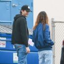 Mila Kunis and Ashton Kutcher – Out in Los Angeles - 454 x 681