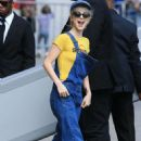 Hayley Williams – Arrives at 'Jimmy Kimmel Live' in Hollywood