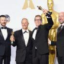 Chris Evans- February 28, 2016-2016 Academy Awards - Oscars Press Room