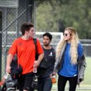 Bella Thorne – Supports Gregg Sulkin at a soccer game in LA