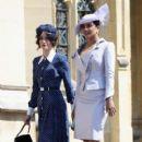 Priyanka Chopra and  Abigail Spencer :  Prince Harry Marries Ms. Meghan Markle - Windsor Castle