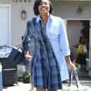 Gabrielle Union – Leaving a party in Brentwood