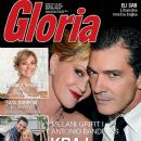 Melanie Griffith, Antonio Banderas - Gloria Magazine Cover [Serbia] (17 June 2014)