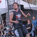 Josh Hutcherson hosting the Second Annual Josh Hutcherson Celebrity Basketball Game in Los Angeles (August 9)