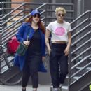 Kristen Stewart with friend out in New York City - 454 x 517