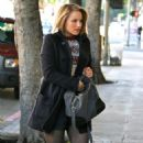 Dianna Agron: Grabing coffe