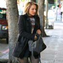 Dianna Agron: Grabing coffe