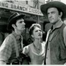 Dennis Weaver, Amanda Blake & James Arness in Gunsmoke