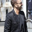 Ringo Starr defies his 75 years as he looks impossibly youthful whilst enjoying a day out with son Jason Starkey, 48