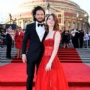 Rose Leslie and Kit Harington : The Olivier Awards 2017 - 394 x 600