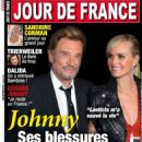 Johnny Hallyday and Laeticia Boudou - 454 x 579