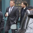 Jamie Dornan and Max Martini on set of Fifty Shades Darker  ( March 1, 2016) - 454 x 681