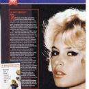 Brigitte Bardot - 100 Greatest Movie Icons Magazine Pictorial [United Kingdom] (29 September 2019) - 454 x 642