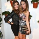 Actress Heather McDonald and Courtney Bingham-Sixx attend the Covenant House California (CHC) All Star Mixology competition at SkyBar at the Mondrian Los Angeles on October 1, 2014 in West Hollywood, California.