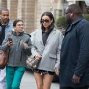 Shay Mitchell – Leaving her hotel in Paris