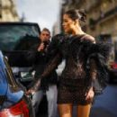 Olivia Culpo – Out in Paris during fashion week